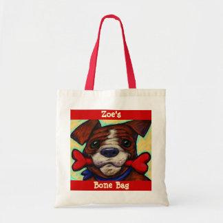 La invitación del perro del nombre de mascota bolsas