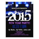 La invitación DJ del acontecimiento del fiesta del Tarjetas Publicitarias