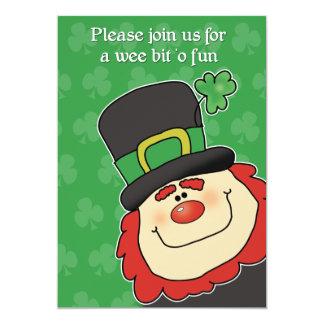 La invitación MÁS LINDA del día del St. Patricks