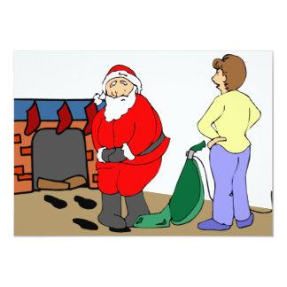La invitación reventada de Santa