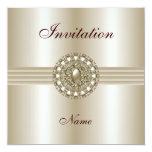 La invitación toda ocasiona la gema elegante 2 de