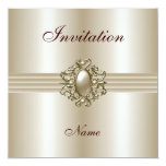 La invitación toda ocasiona la gema elegante de la