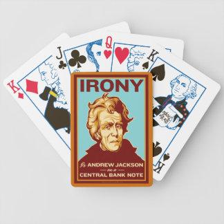 La ironía es naipes de Andrew Jackson Cartas De Juego