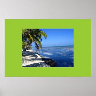 La Isla Bonita (San Pedro, Belize) Poster