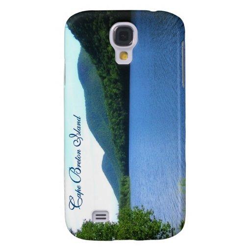 La Isla de Cabo Bretón escénica Funda Para Galaxy S4