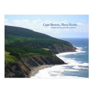 La Isla de Cabo Bretón escénica Tarjetas Postales
