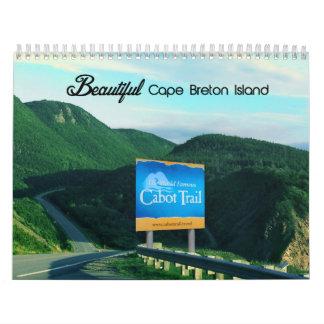 La Isla de Cabo Bretón hermosa Calendarios