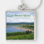 La Isla de Cabo Bretón Llavero Personalizado