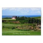 La Isla de Cabo Bretón, Nueva Escocia Felicitación