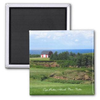 La Isla de Cabo Bretón, Nueva Escocia Iman De Nevera