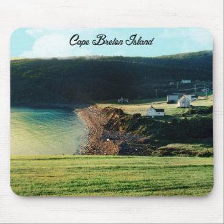 La Isla de Cabo Bretón, Nueva Escocia Alfombrilla De Ratón