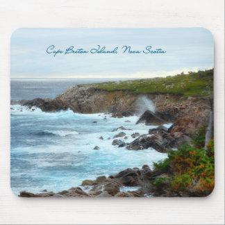La Isla de Cabo Bretón, Nueva Escocia Alfombrilla De Ratones