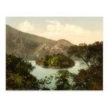 La isla de Ellen, lago Katrine, Trossachs, Escocia Tarjetas Postales