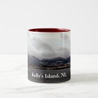 La isla de Kelly, NL asalta Taza De Dos Tonos