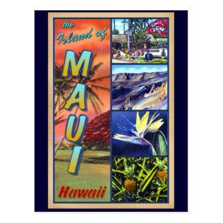 La isla de Maui Hawaii Tarjeta Postal