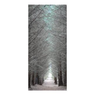 La isla de reflexiona sobre el bosque tarjetas publicitarias personalizadas