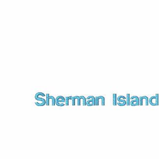 La isla de Sherman Windsurf camiseta maniaca