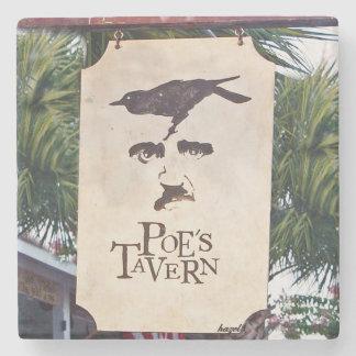 La isla de Sullivan de la taberna del Poe, Posavasos De Piedra