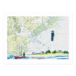 La isla de Sullivan Tarjeta Postal