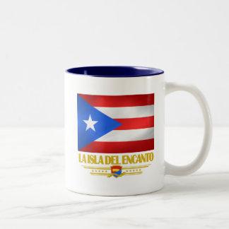 La Isla del Encanto Two-Tone Coffee Mug