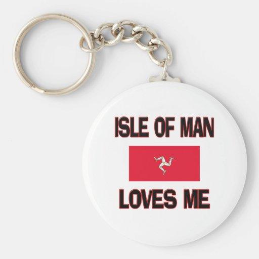 La isla del hombre me ama llavero