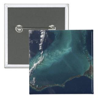 La isla estrecha muy larga de Eleuthra de las Pin Cuadrado