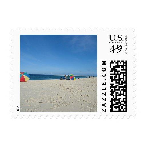 la isla sellos postales