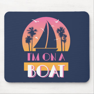 La isla sola - estoy en un barco mousepads