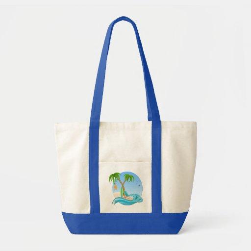 La isla soña bolsos bolsa
