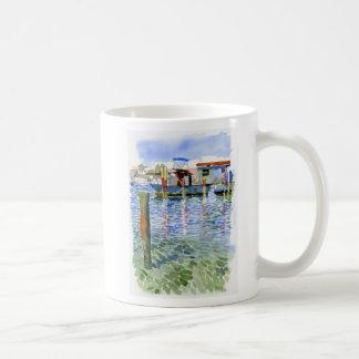 La isleta del alfarero atraca la taza