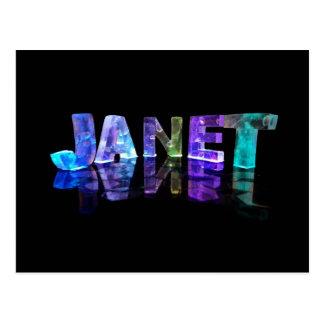 La Janet conocida en 3D se enciende (la Postal