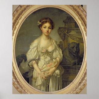 La jarra quebrada, c.1772-73 póster