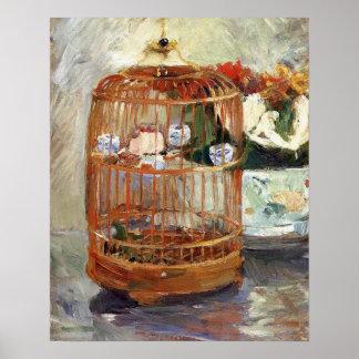 La jaula de Berthe Morisot Póster