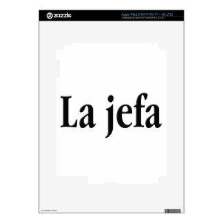 La jefa skins for iPad 3