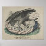 La jerarquía de Eagle la unión [1861] Poster