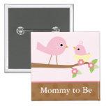 La jerarquía del pájaro de bebé (rosa) pin