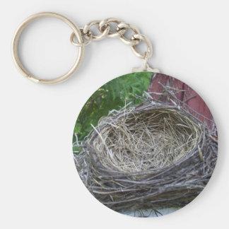 La jerarquía del pájaro vacío llavero redondo tipo pin