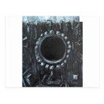 La jerarquía negra (naturaleza abstracta surrealis tarjetas postales