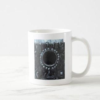 La jerarquía negra (naturaleza abstracta surrealis tazas de café