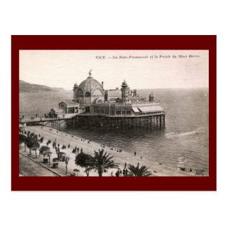 La Jette Promenade, Nice, France Vintage Postcard