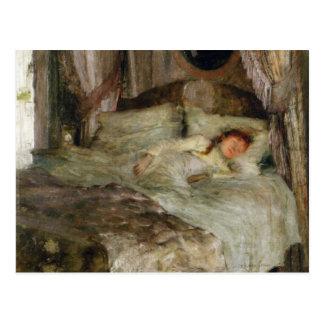 La Jeune Femme endormie Postcard