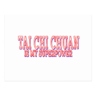 La ji Chuan del Tai es mi superpotencia Postales