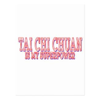 La ji Chuan del Tai es mi superpotencia Tarjetas Postales