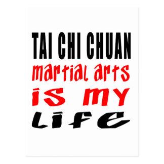 La ji Chuan del Tai es mi vida Tarjeta Postal