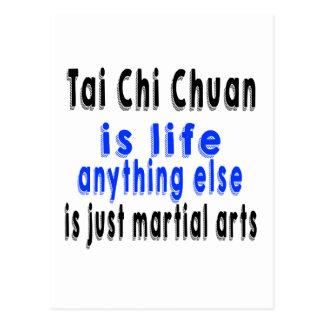 La ji Chuan del Tai es vida que todo lo demás es Postal