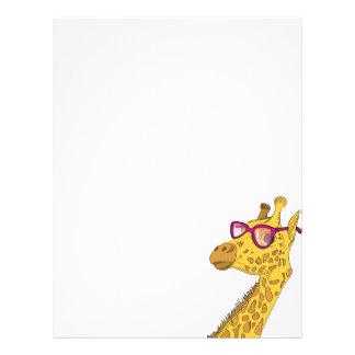 La jirafa del inconformista membrete
