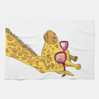 La jirafa del inconformista toallas