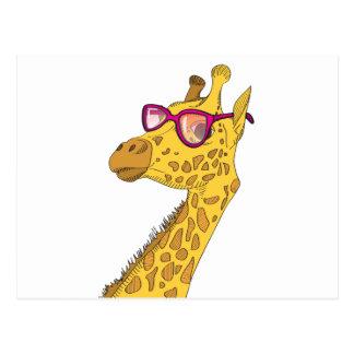 La jirafa del inconformista postales