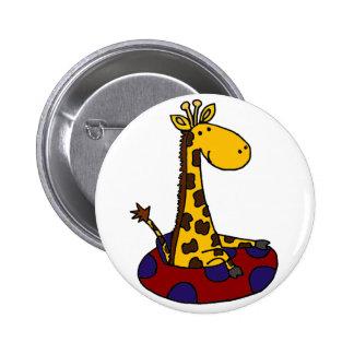 La jirafa divertida es tubería pin redondo de 2 pulgadas