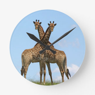 La jirafa hermana el reloj